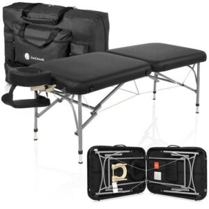 Zengrowth opklapbare massagetafel Artarmon type-2 zwart
