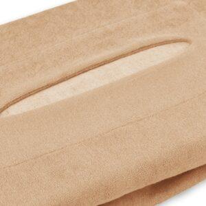 Badstof Hoeslaken Massagetafel Lichtbruin met uitsparing ZENGROWTH