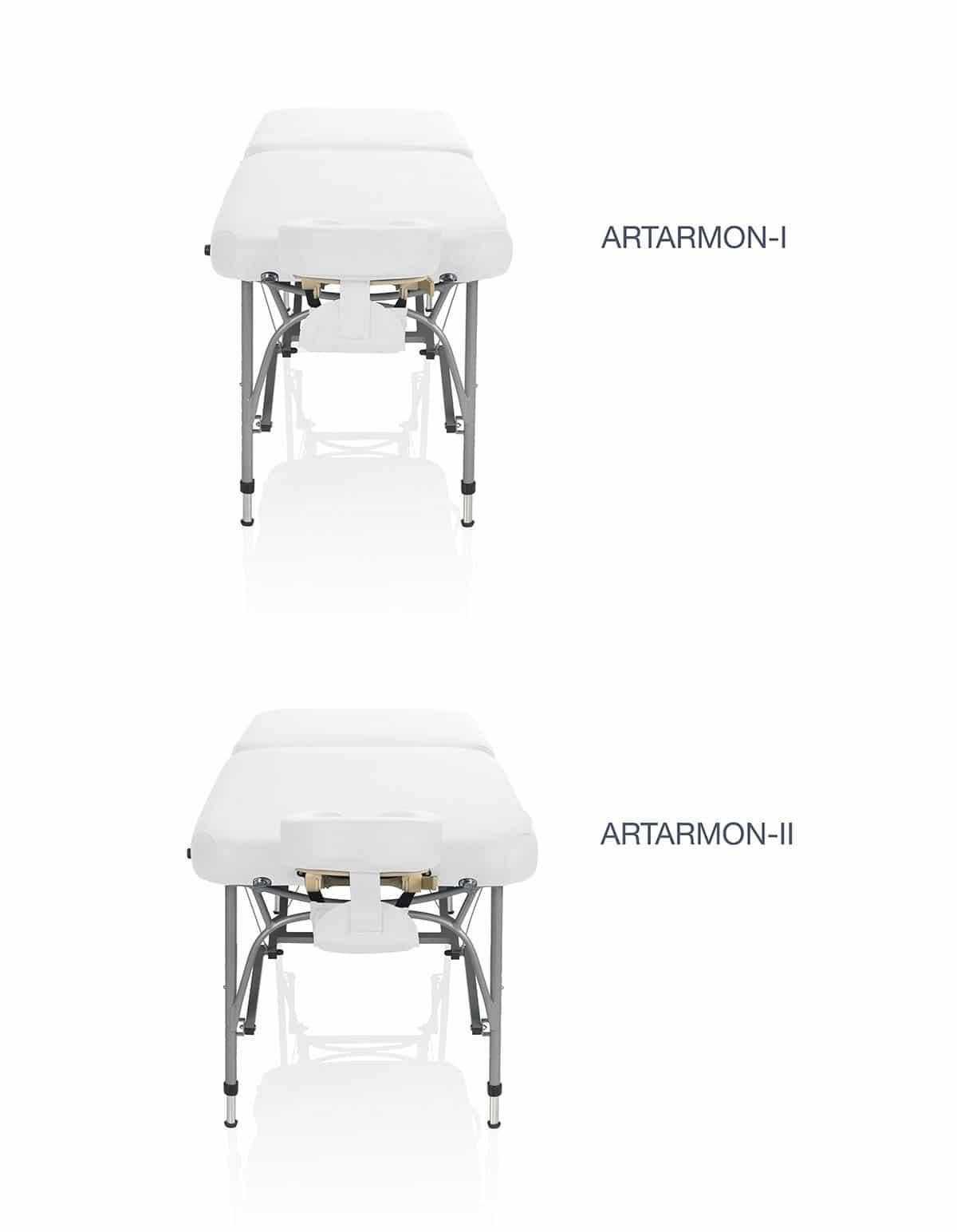 Zengrowth opklapbare massagetafel Artarmon type-2 Wit