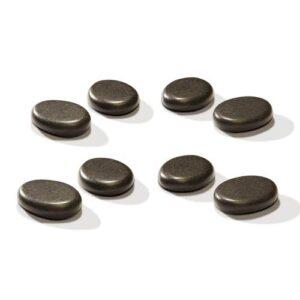 Kleine Massage Basaltstenen Tenen & Vingers 8 Stuks