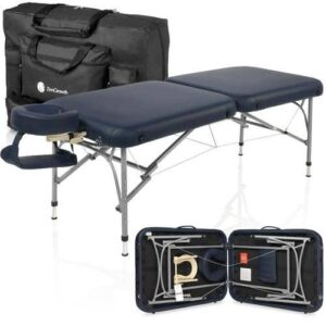 Zengrowth opklapbare massagetafel Artarmon type-2 marineblauw