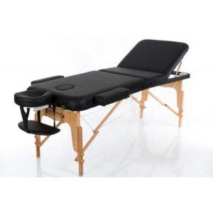 RESTPRO Inklapbare Massagetafel VIP 3 Zwart